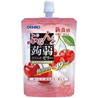 オリヒロ ぷるんと蒟蒻ゼリー スタンディング さくらんぼ (130g) 低カロリー 49kcal