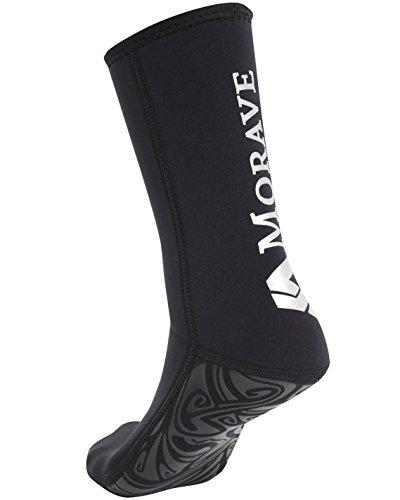 【Morave】 ダイビングソックス・フィンソックス 《ネオプレーン 3mm》《男女兼用》 (ブラック, M)