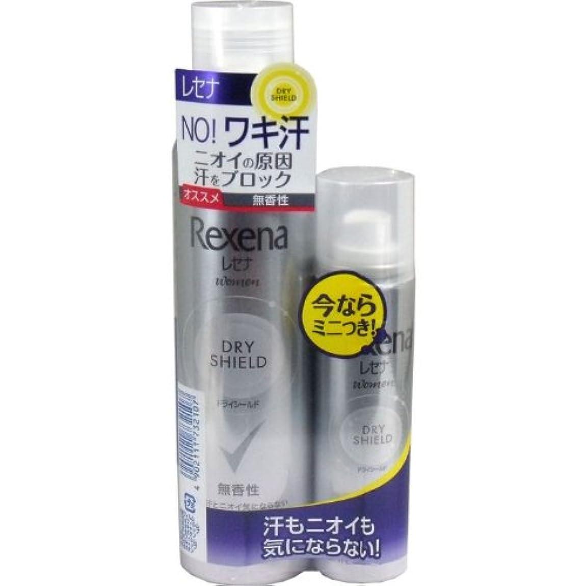 甘味贅沢な解放レセナ ドライシールドパウダースプレー 無香性 135g+(おまけ45g付き) 【4個セット】