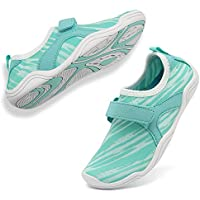 WALUCAN Girls' & Boy's Water Shoes Aqua Shoes Athletic Sneakers Lightweight Sport Shoes(Toddler/Little Kid/Big Kid)