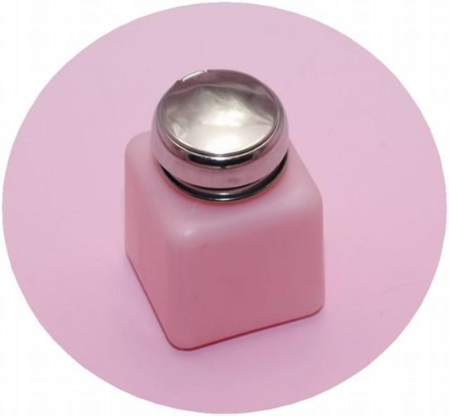 腹痛退却サーバントネイル ポンプディスペンサー (M, ピンク)