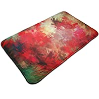 "Bath Mats Non-Slip Mats Painting Doormats Super Absorbent Indoor/Outdoor Uses 19.5"" X 31.5"""