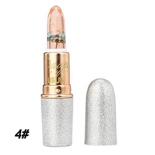 YOKINO リップスティック 4 color オート リップ クレヨン 3.8g 唇 乾燥 うるおい ケア 天然保湿美容成分入り 無香料 (D)