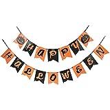 BESTOYARD ハロウィン ガーランド 飾り付け ペーパー ガーランド Halloween パーティー 飾り 文化祭 ハロウィンパーティー DIY ガーランド 2.5m