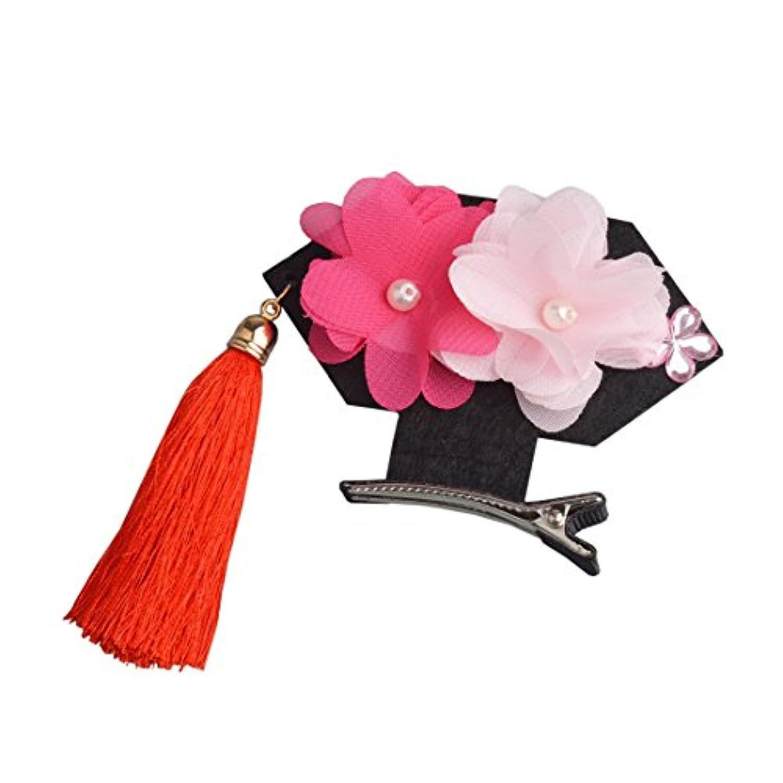 YueLian キッズ 髪飾り アクセサリー 子供用 ベビー タッセル 前髪 髪留め プリンセス(タイプ3)