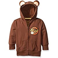 Curious George Little Boys' Toddler Hoodie with Ears