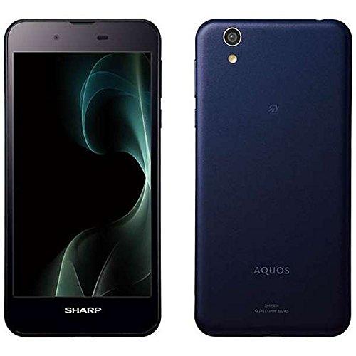 シャープ SIMフリースマートフォン AQUOS SH-M04-A(ネイビー) SH-M04-A-A