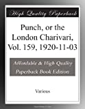 Punch, or the London Charivari, Vol. 159, 1920-11-03