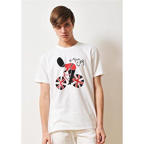 ( グラニフ ) graniph ベーシック Tシャツ / ライドザシティ ( ホワイト ) SS