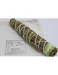 Native Scents パープルマジェスティー セージ 杉 フレンチラベンダー 9インチ スマッジスティック