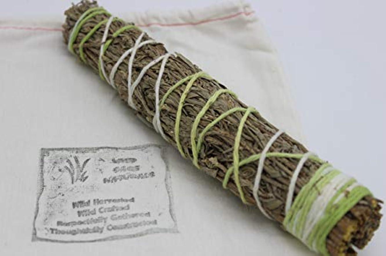 協力ペナルティ支店セージ/ Sweetgrass Smudge Wand 7