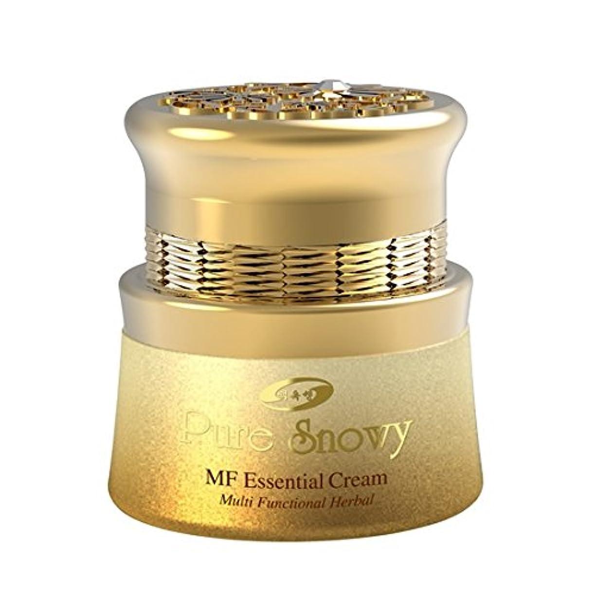 つぶやき支払い推定する韓国コスメ[ベクオクセン]ピュアスノイMFエッセンシャルクリーム55ml/栄養供給と美白クリーム/ Pure Snowy MF Essential Cream [並行輸入品]