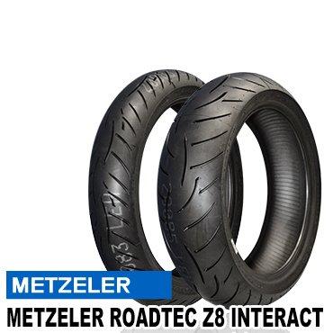 METZELER(メッツラー) バイクタイヤ 前後セット ロードテックZ8 インタラクト 120/70ZR17(M) M/C (58W) TL&180/55ZR17(O) M/C (73W) TL 811352
