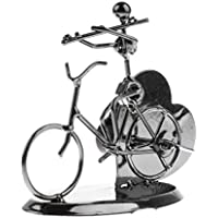 monkeyjack Vintage MusicalメカニズムClockwork移動音楽ボックス音楽動きOffcie装飾用自転車モデルの実行者