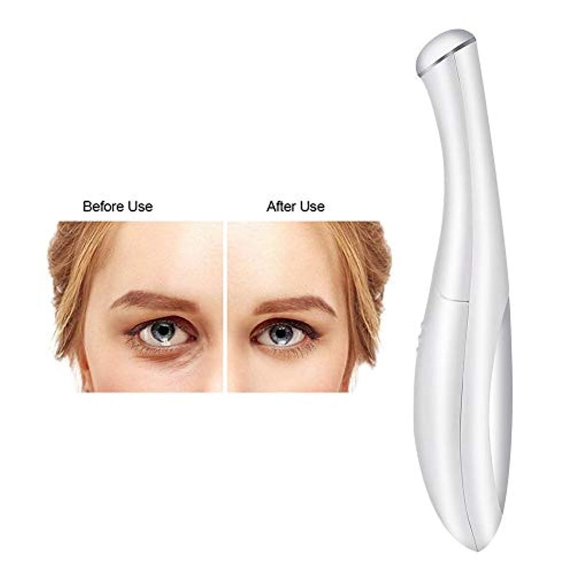 養う描くましい目のしわの取り外しのマッサージャー、電池式イオンEMSの振動美の心配用具