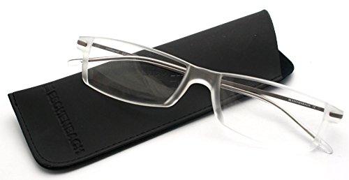 エッシェンバッハ 遠近両用老眼鏡 PCビュアー 3.0度×2.0度 ガンメタリック 2905-030