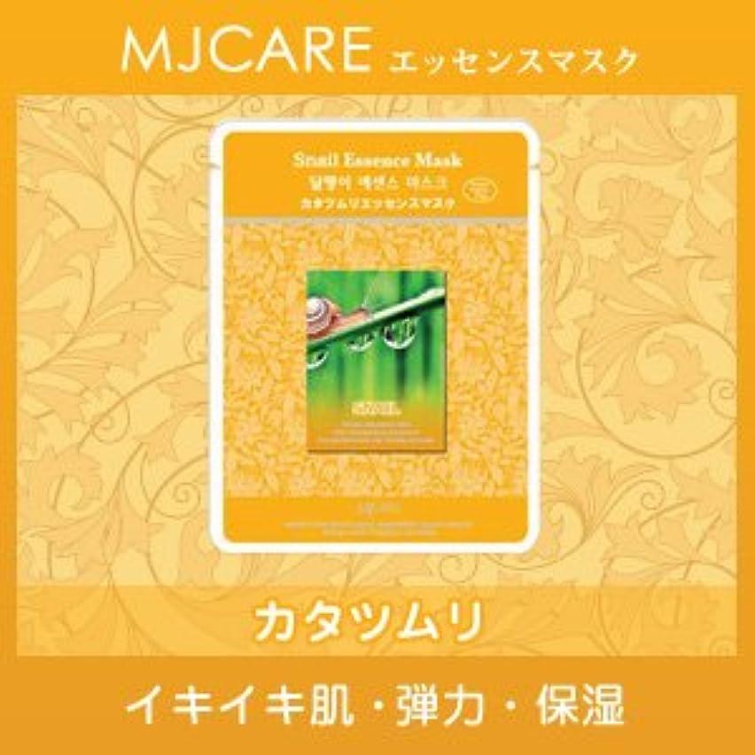 九軽減する衝突MJCARE (エムジェイケア) かたつむり エッセンスマスク