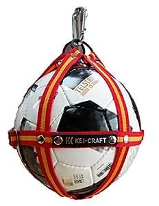 KEIーCRAFT(ケイクラフト) ボールホルダー XO-R モデル(ボーダーオレンジ)