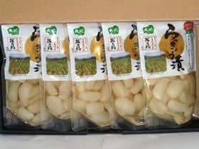 広島県名産品 こだわりの米の酢 らっきょう漬セット(130g×5袋)