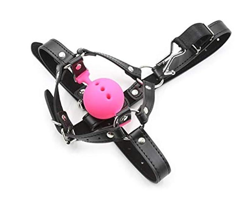 エジプト甲虫どちらも大人に適して 大人のおもちゃ馬型鼻フックフック鼻フックボール、ピンク、L セクシー (Color : ピンク, Size : M)
