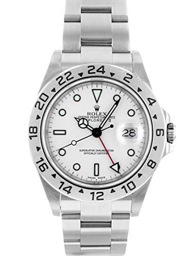 [ロレックス] 腕時計 ROLEX 16570 Y番 エクスプローラーII ホワイト文字盤 SS 自動巻き [中古品] [並行輸入品]