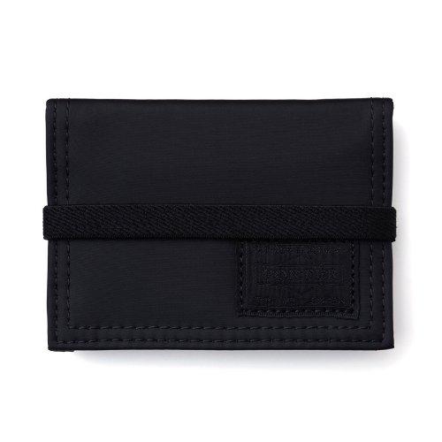 (ヘッド・ポーター) HEAD PORTER | BLACK BEAUTY | BAND CARD CASE BLACK