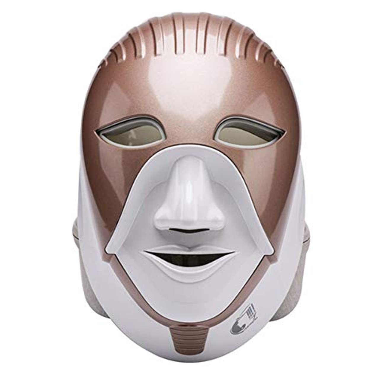 遅らせる熱ビジュアルマスク、光線療法にきびマスク7色光をにきびに適用することができます。スポットにきび、引き締め肌ケアツール