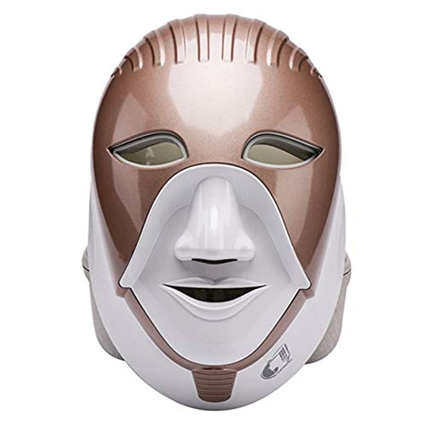 直立オープニングスプリットマスク、光線療法にきびマスク7色光をにきびに適用することができます。スポットにきび、引き締め肌ケアツール