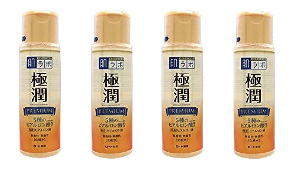 時々自慢暖かく【まとめ買い】肌研 極潤プレミアム ヒアルロン液 170mL×4個