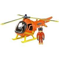 Fireman Sam - Mountain Rescue ヘリコプター with Tom おもちゃ (並行輸入)