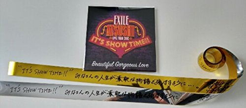 EXILE ATSUSHI ソロライブ CD 銀 & 金テープ 3点セット