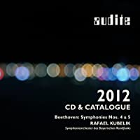 Beethoven: Symphonies 4 & 5 - 2012 Catalogue included by Bavarian Radio Orchestra