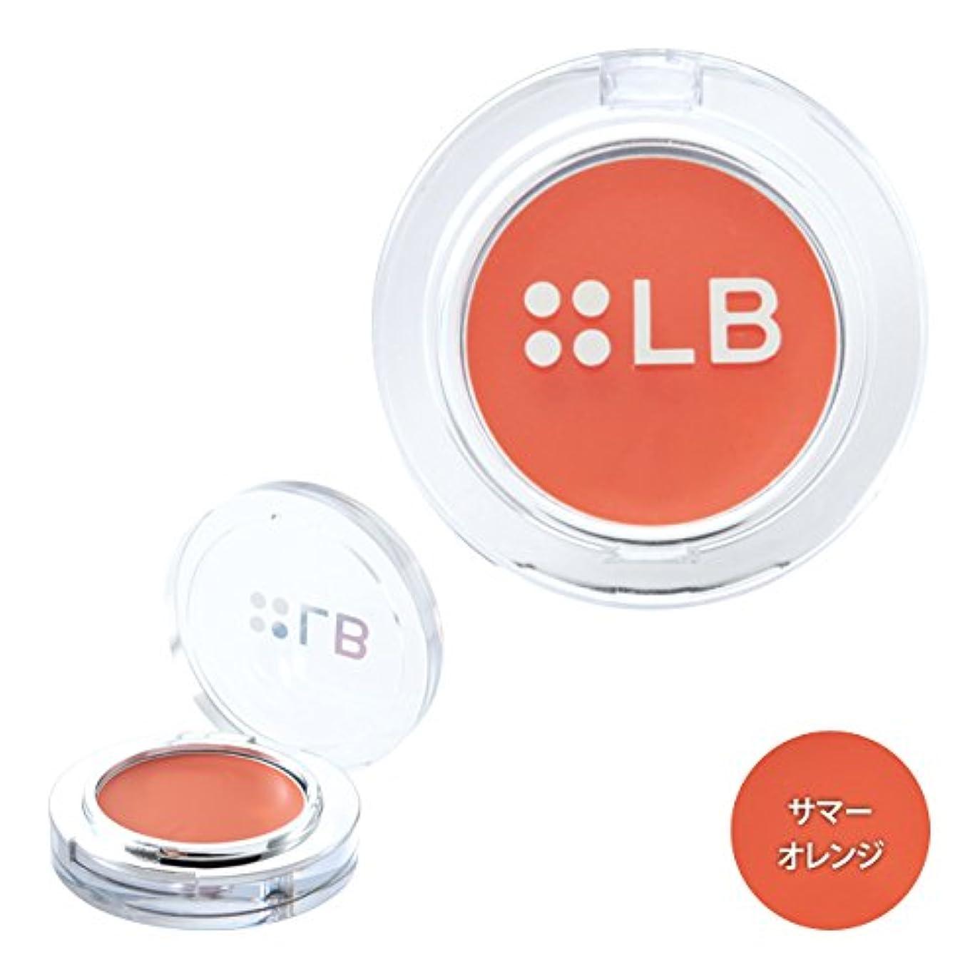 肌贅沢なほとんどないアイケイ LB ドラマチックジェリーチークルージュ DR-4サマーオレンジ 16g