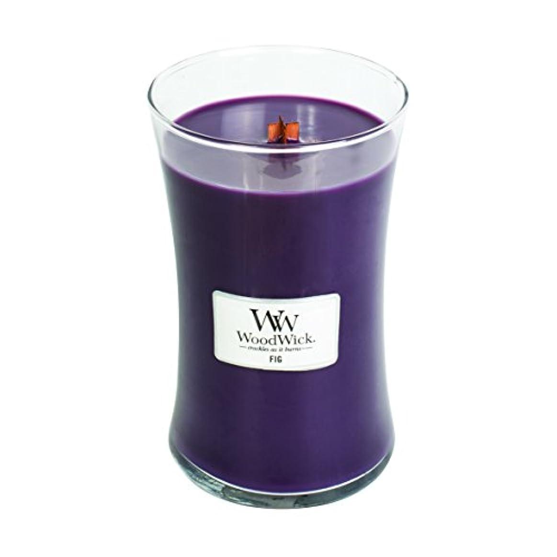 ダーツ長くする連合Fig – WoodWick 22oz Medium Jar Candle Burns 180時間