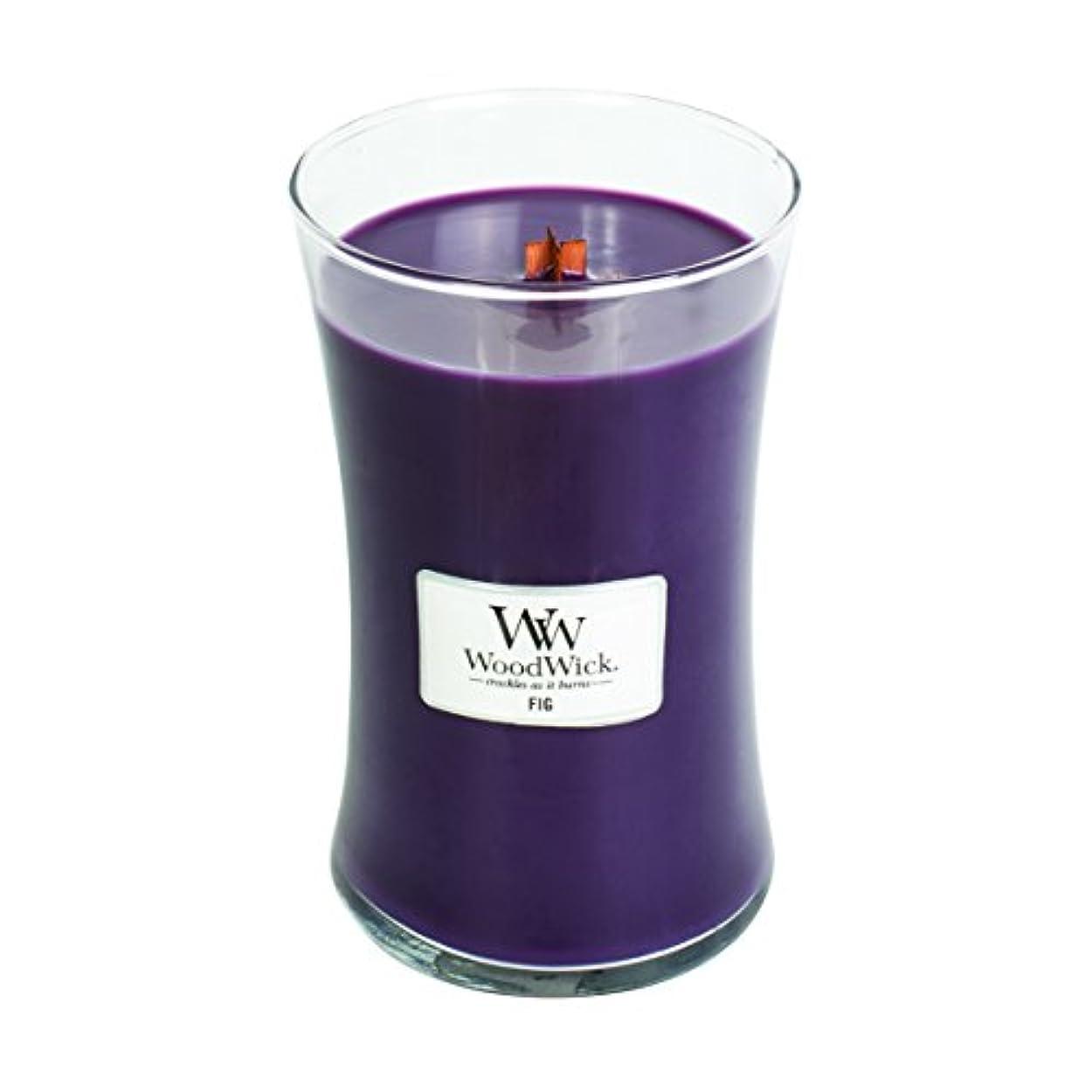 励起消費する抵抗するFig – WoodWick 22oz Medium Jar Candle Burns 180時間