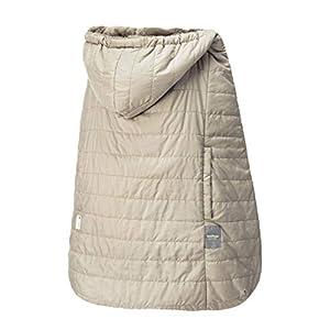 ベビーホッパー(BABYHOPPER) 抱っこひも 防寒 カバー 軽量 エルゴ ウインターマルチプルカバー/ベージュ はっ水 ベビーカーでも使える CKBH04008