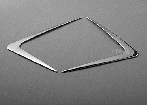 高品質2ピース/ロットカースタイリングabsトリム装飾ヘッドライト三角形カバーアクセサリー用ホンダhrv hr-v vezel 2014 2015