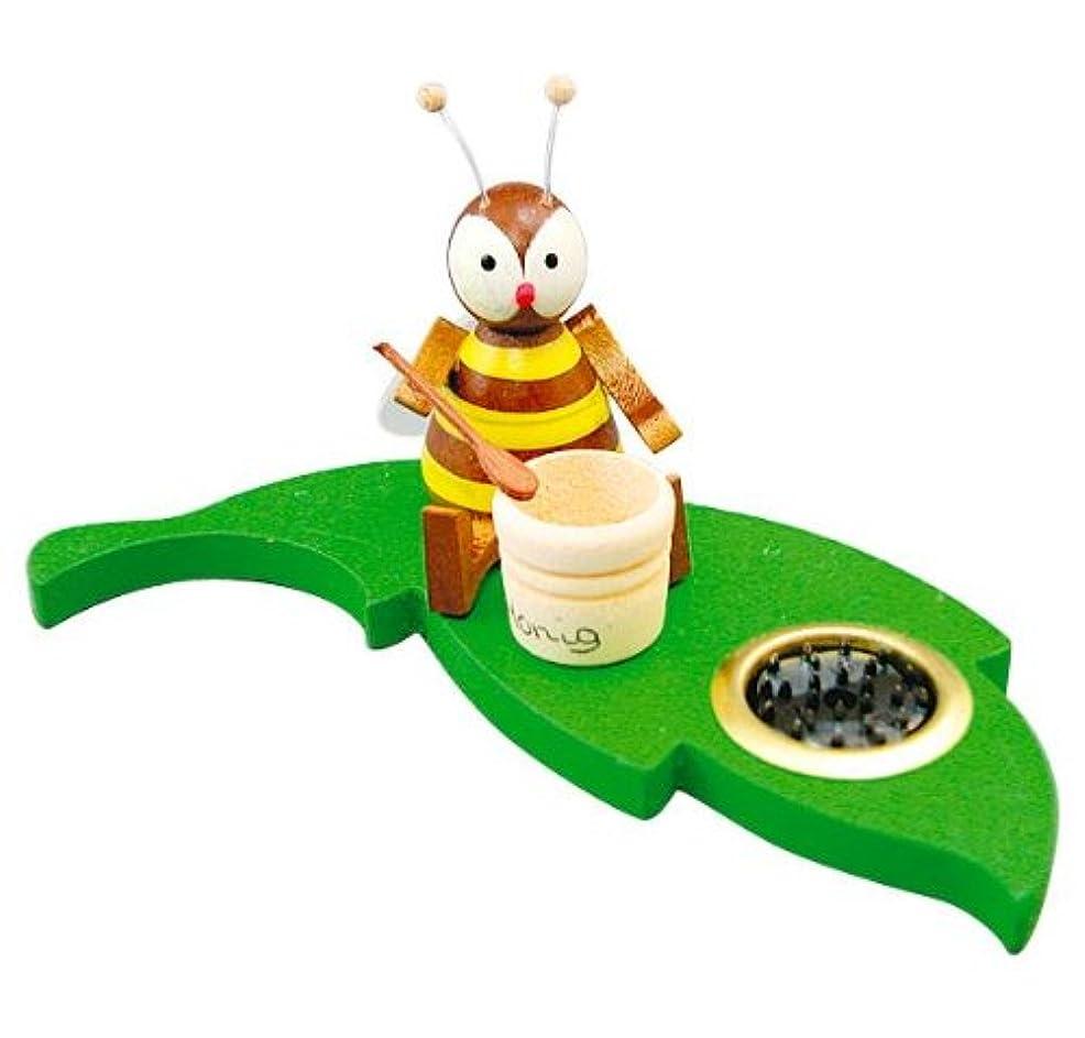 競う発掘する回転させるインセンススタンド ミツバチポット