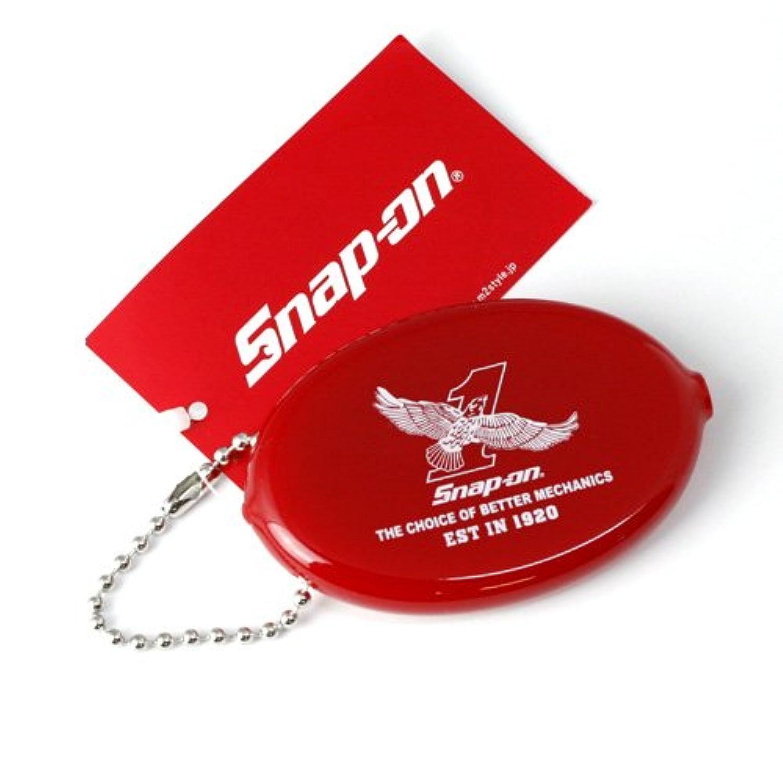 SNAP-ON スナップオン コインケース <イーグル:レッド> #340055