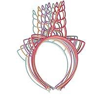 ハロウィーン の子供のユニコーンヘッドバンドライトカラー1セット12パック おもちゃ雑貨用品 お祭り 宴会 文化祭 浅色
