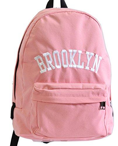 ブルックリン パステルスウェットデイパック(ピンク色)