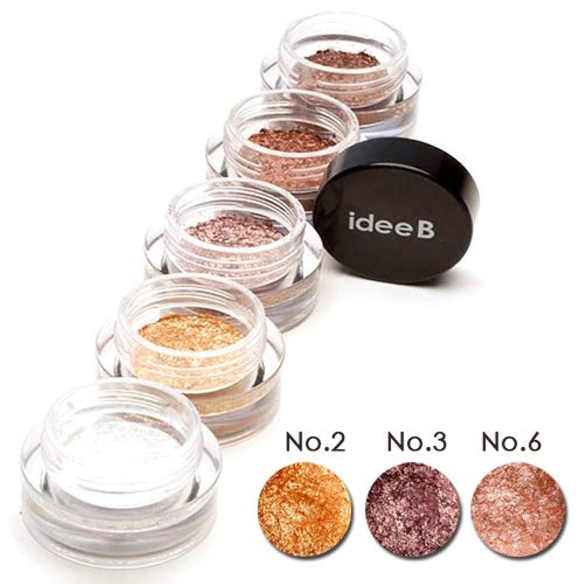 ところで絡まるほとんどない【10色のうち、3色選択】しっとりきらきらアイシャドウ ジュエルジェルアイシャドウ (IDEEB Jewel Gel Eyeshadow) 3g * 3個 (選択7. 02+03+06)
