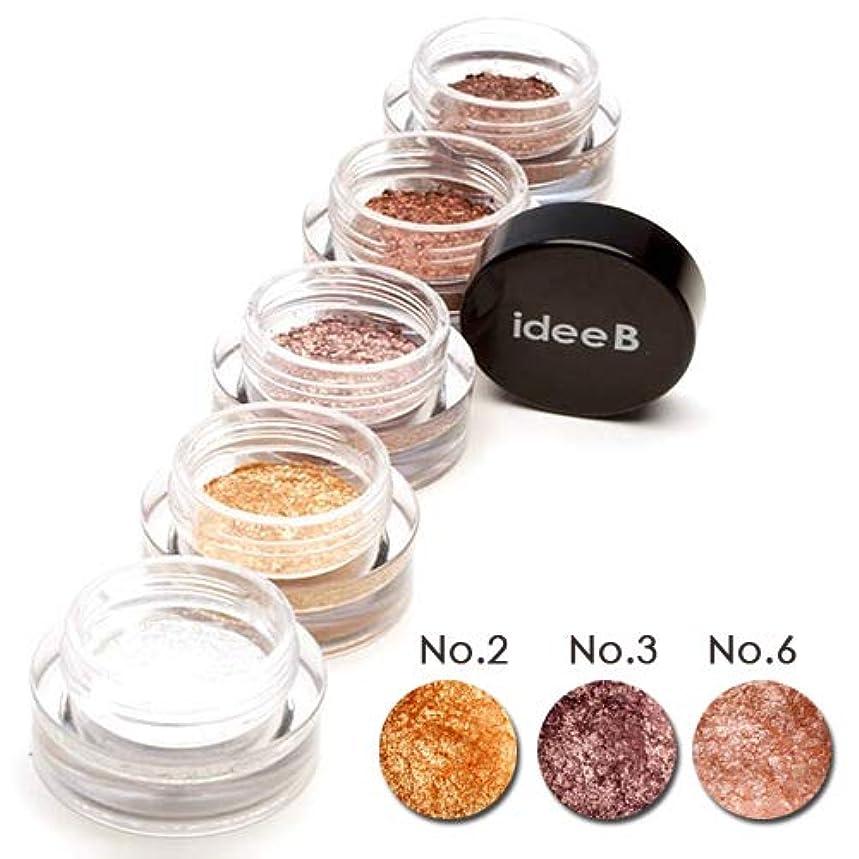 胚芽迷彩英語の授業があります【10色のうち、3色選択】しっとりきらきらアイシャドウ ジュエルジェルアイシャドウ (IDEEB Jewel Gel Eyeshadow) 3g * 3個 (選択7. 02+03+06)