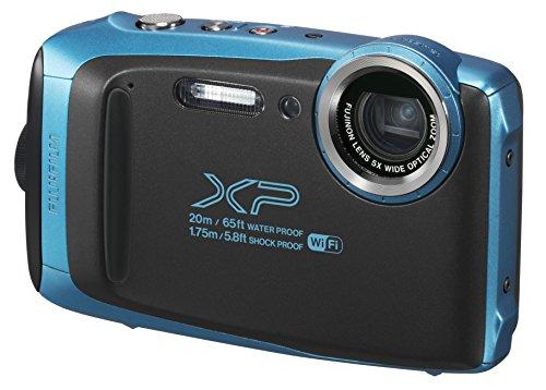 富士フイルム デジタルカメラ XP130 スカイブルー FX-...