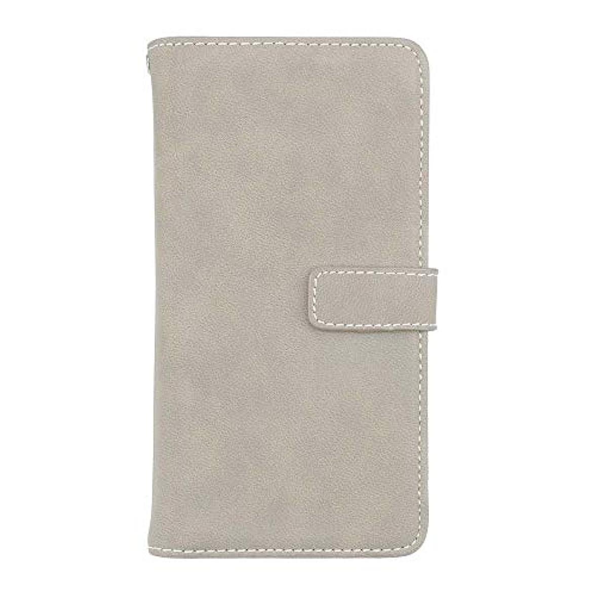 有効こするもっと少なくXiaomi Redmi Note 5 高品質 マグネット ケース, CUNUS 携帯電話 ケース 軽量 柔軟 高品質 耐摩擦 カード収納 カバー Xiaomi Redmi Note 5 用, グレー