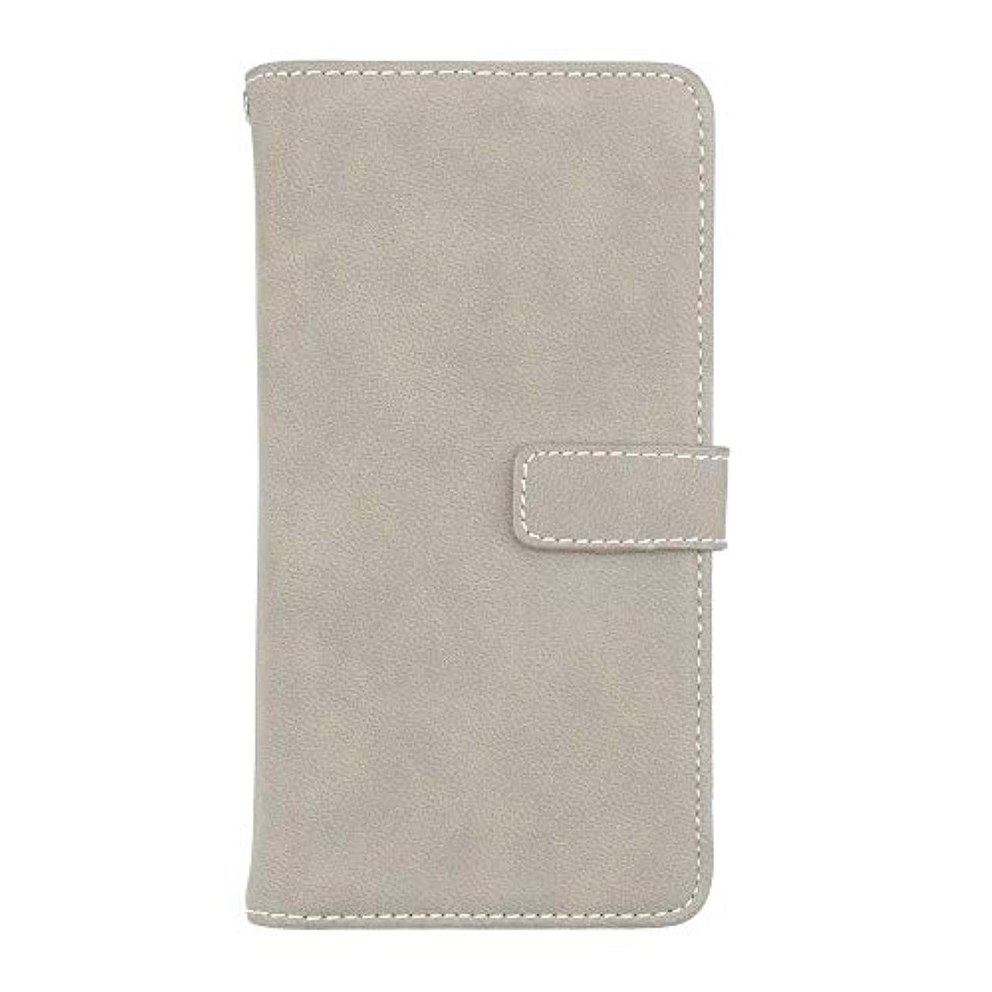 顎省略レースXiaomi Redmi Note 5 高品質 マグネット ケース, CUNUS 携帯電話 ケース 軽量 柔軟 高品質 耐摩擦 カード収納 カバー Xiaomi Redmi Note 5 用, グレー