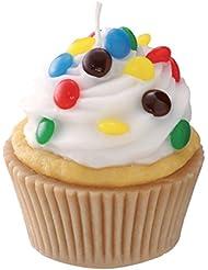 カメヤマキャンドルハウス 本物そっくり! アメリカンカップケーキキャンドル ホワイトクリーム チョコレートの香り