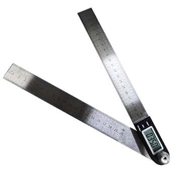 デジタル角度計 分度器 20cm定規