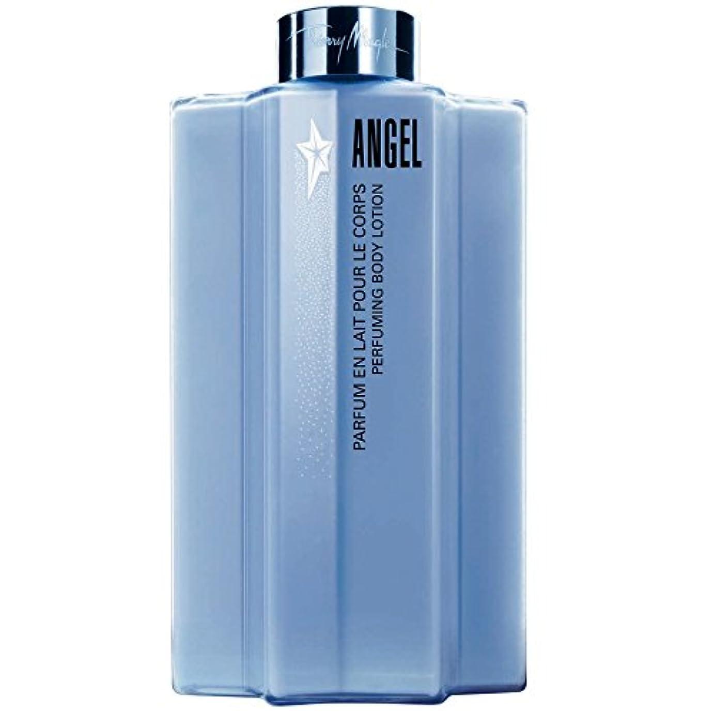 ヒゲ拡張スキッパーティエリー?ミュグレー天使のボディローション (Thierry Mugler) (x2) - Thierry Mugler Angel Body Lotion (Pack of 2) [並行輸入品]