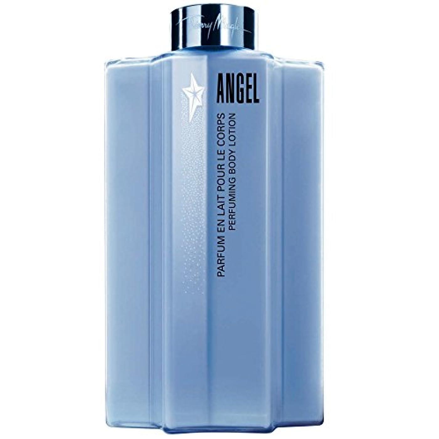 宣言するの間でポーチティエリー?ミュグレー天使のボディローション (Thierry Mugler) (x6) - Thierry Mugler Angel Body Lotion (Pack of 6) [並行輸入品]